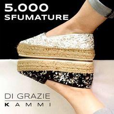 Grazie a tutte, che oltre alle #50SfumatureDiGrigio apprezzate anche quelle delle nostre #scarpe.  #KammiStyle