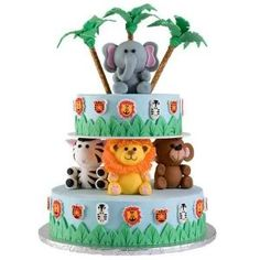 safari cakes for kids | 1st birthday cake! - JustMommies Message Boards