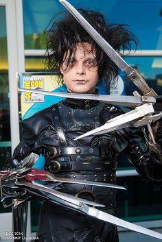 Edward Scissorhands | San Diego Comic Con 2014