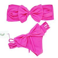 bow swimsuit!