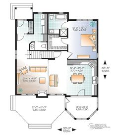 House plan W2945-V2 detail from DrummondHousePlans.com