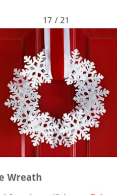 Making this.  I wonder if I could figure out how to attach some white Christmas lights to it?