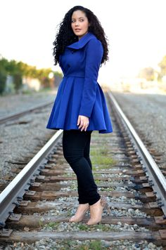 Very cute blog for curvy girls with lots of ideas for outfits and fashion