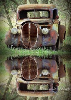 Image result for photography of old pick up