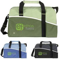 Recycled PET Duffel Bag - 18x10.5x9