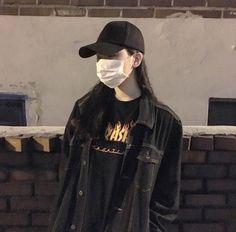 Fashion black ulzzang 33 ideas for 2019 Korean Girl Photo, Korean Girl Fashion, Korean Fashion Trends, Ulzzang Fashion, Korean Street Fashion, Korea Fashion, Asian Fashion, Fashion Black, Trendy Fashion