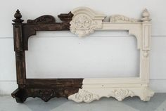 painting the frame brown Chalk Paint Mirror, Mirror Painting, Diy Painting, Painting Frames, Painting On Wood, Plastic Picture Frames, Painted Picture Frames, White Picture Frames, Spray Paint Plastic