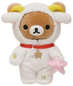 zodiac sign Capricorn Rilakkuma plush bear San-X