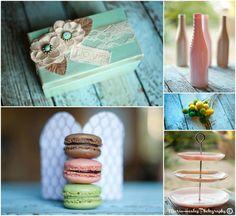 Food & Wine Bridal Shower #bridalshower Mariahealey.com http://www.dandpcelebrations.com