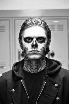 skeleton makeup for men