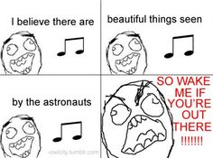 That's pretty much what it's like when I sing along to Angels...