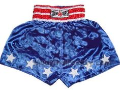 Siamtops Custom Muay Thai Shorts - The Captain for sale.  [MTF-S-060]