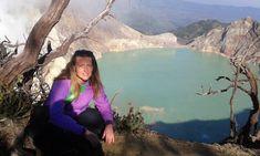 Ijen Crater, Java, Indonesia #indonesia #ijencrater #volcanos #climbingvolcanos #lakecraters #craters #backpackingworld #javaindonesia #bestplacesintheworld