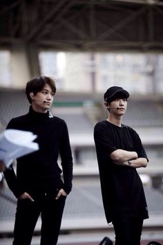 Kai and Chanyeol | The Lost Planet Rehearsal