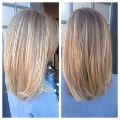 Hair by Emilio. Aveda color with some soft balayage