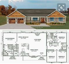 *THIS ONE!!!* Has everything i want! even bathroom for kara. GIVE ME!! The porch is perfect. Tub in corner! 2 WIC in master bath. Walk in pantry. Open space. Boys bedrooms right next to each other.
