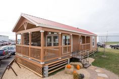 Beautiful White Chalet Park 529 By Athens Model RVs