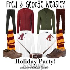 Fred and George Weasley - Holiday Party!