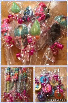 I am ordering just the lollipops that are trolls in this listing. I am going to give to the kids as a favor. I am excited!!