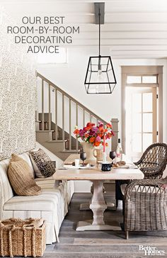 The Best Room-by-Room Decorating Advice