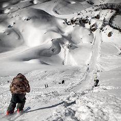 Arnaud Rougier, dropping in | Faction Skis