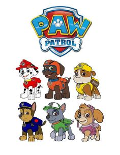 INSTANT DOWNLOAD Iron on  13 Paw Patrol by SAVVYCOUNTRYDESIGNS