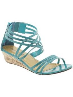 I love these! I can just see my pudgy pregnant feet swelling and pushing out between the straps :) $19.99