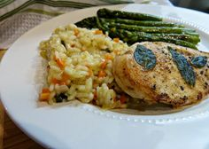 A Squared: What's For Dinner Wednesday: Pan Seared Sage Leaf Chicken Breasts