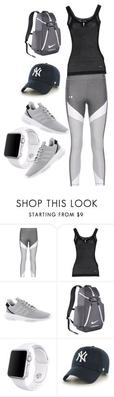 """Untitled #95"" by yasmine313 ❤ liked on Polyvore featuring Dsquared2, adidas, NIKE, Apple and '47 Brand"