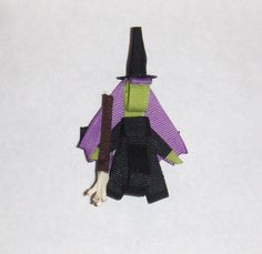 Wicked Witch Halloween Hair Clip by TheLadybugLanding on Etsy, $5.99