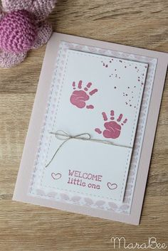 Card for birth, congratulations on baby, baby card, baby card, stampin up first s … – Holidays Cricut Baby Shower, Baby Shower Cards, Baby Girl Cards, New Baby Cards, Handmade Baby Gifts, New Baby Gifts, Birth Congratulations, Handgemachtes Baby, Baby Birth