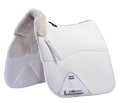 English Tack Shop - Premier Equine Air-Technology Shockproof Merino Wool Half Lined Dressage Pad, $134.95 (http://www.englishtackshop.com/wool-saddle-pads/)