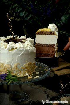 Tarta San Marcos Helada, la receta perfecta para el verano. Un clásico que no puede faltar en tu mesa. Fácil y deliciosa.