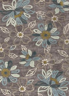 Jaipur Brio Daisy Chain Taupe Gray Transitional Rug