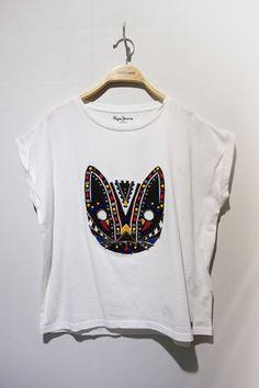 Camiseta disponible en  escolanomoda  Segorbe o en nuestra SHOP  )   PepeJeans shop.escolanomoda.com 86076f9f25