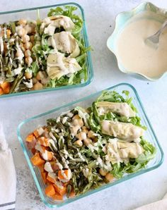 These hearty vegan Mediterranean Meal Prep Bowls with lemon tahini sauce are packed with bright, fresh flavors for a filling, healthy, and satisfying meal. Vegan and gluten-free! Quick Vegan Meals, Vegetarian Meal Prep, Vegetarian Recipes, Cooking Recipes, Healthy Recipes, Lunch Recipes, Healthy Meals, Diet Recipes, Healthy Food