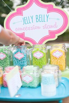 Anders Ruff Custom Designs, LLC: The Perfect Jelly Belly Concession Stand (with FREE Printable Flavor Voting Cards!)