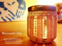 LOvely decorated jar !