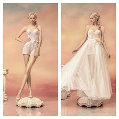 """People will stare make it worth their while! from Papilio """"Hellas"""" bridal collection - www.papilioboutique.com"""
