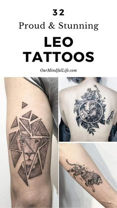 47 Leo Tattoos To Showcase Your Pride Of Being A Lion – leo constellation tattoo Leo Lion Tattoos, Lion Tattoo Images, Leo Zodiac Tattoos, Horoscope Tattoos, Tattoos For Women Small, Tattoos For Guys, Astrology Tattoo, Astrology Leo, Inside Of Arm Tattoo