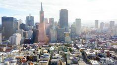 Poster & Download: San Francisco Stadtbild Transamerica Pyramid California Amerika Kategorien: landschaften, san, francisco, cityscape, transamerica, pyramid, california, america, usa, view, panorama, urban, downtown, city, skyline, architecture, landmark, building, tower, modern, famous, skyscrapers