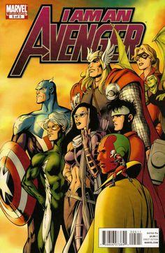 I Am an Avenger # 5 by Alan Davis & Mark Farmer