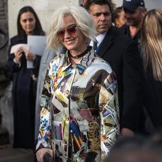 @katyperry spotted outside the shows at London Fashion Week  see all the best #streetstyle on harpersbazaar.com.sg! #HarpersBazaarSG #LFW  via HARPER'S BAZAAR SINGAPORE MAGAZINE OFFICIAL INSTAGRAM - Fashion Campaigns  Haute Couture  Advertising  Editorial Photography  Magazine Cover Designs  Supermodels  Runway Models