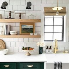 Chatting about ideas on how to style open shelving inhellip