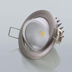 LED Einbaustrahler Einbauspot 5W Exklusive Lampe Strahler Einbaustiefe 45 mm in Heimwerker, Lampen & Licht, Einbauleuchten | eBay!