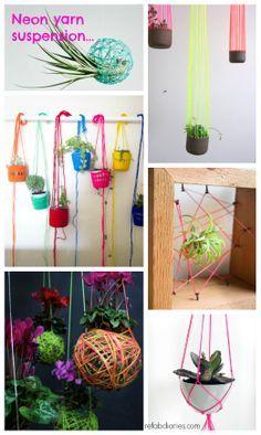 yarn air plant - Google Search