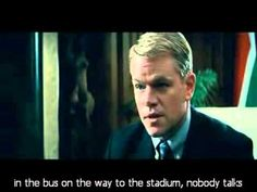 Powerful Learning from This Scene in Invictus: What is Your Philosophy o...