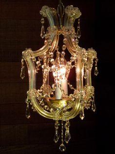 venice italy murano glass chandilers   Crystal Chandelier Gilt Chandelier Italian Perfection Murano Magic ...