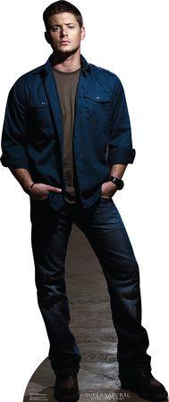 Supernatural - Dean Winchester Lifesize Standup Cardboard Cutouts at AllPosters.com