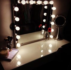 vanity lighted mirrors and dressing tables on pinterest ikea vanity malm and vanities. Black Bedroom Furniture Sets. Home Design Ideas